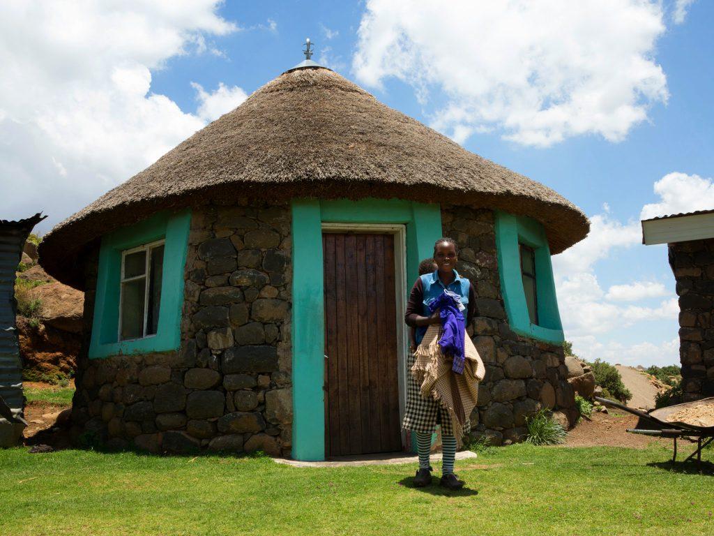 Day 3 of 3 or 4 day pony trek, Thaba Kotjo.